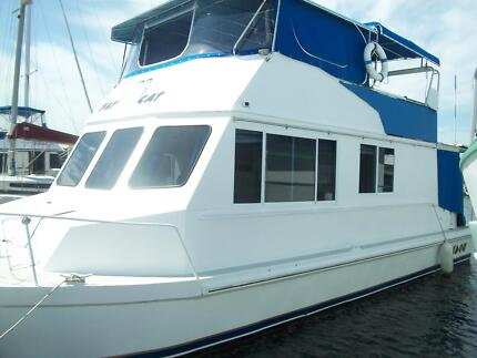 ALUMINIUM HOUSEBOAT TWIN HULL 36ft Takura Fraser Coast Preview