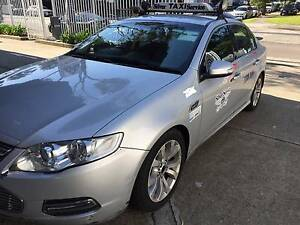 SILVER SERVICE TAXI CAR FOR SALE (FORD G6E) Marrickville Marrickville Area Preview