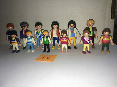 Playmobil set of 12 RANDOM KLICKIES 3 MEN 3 WOMEN 3 BOYS 3 GIRLS (LOT 10)  for sale  Powell