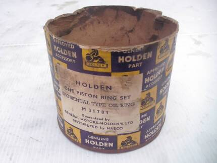 Holden Piston Ring Parts Tin    Pls read ALL Ad details 1st Bentleigh Glen Eira Area Preview