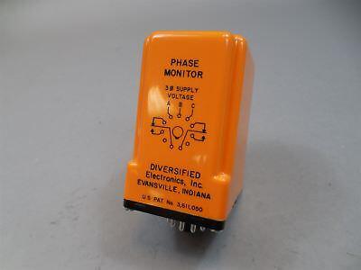 Diversified Electronics Sla-208-afa Phase Monitor