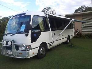 2004 - Toyota Coaster Deluxe - Motorhome Nerang Gold Coast West Preview