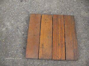 reclaimed pitch pine parquet flooring ebay. Black Bedroom Furniture Sets. Home Design Ideas