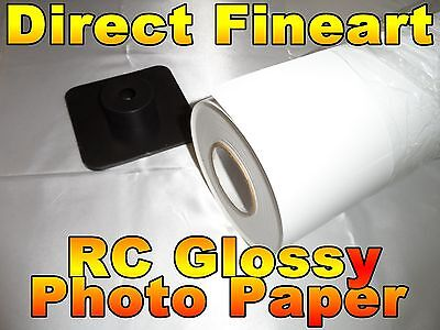 - Premium RC Glossy Photo Paper Roll Inkjet canon hp epson picture 24 x 100 ft hhh