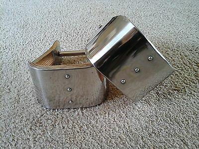 "4"" MONEL (Stainless) BELL STIRRUPS - USA MADE & (Stainless Bell)"