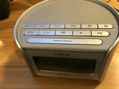ihome alarm clock Radio IBT230 Plus AC Plug DC Battery,  & USB