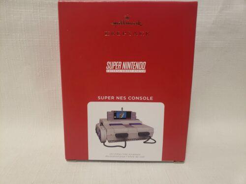 Hallmark 2021 Super NES Console Super Nintendo Ornament