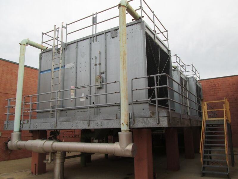 Marley NC Series Cooling Tower NC5001GS 414 Tons DOM: 1995 Used