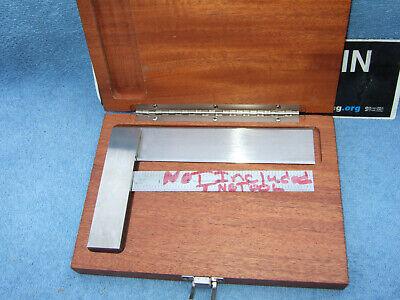 Brownsharpe 542 Vintage 6 Master Square Machinist Toolmaker Used Clean