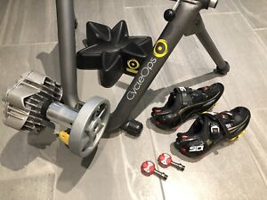Cycle Trainer SOLD J, Speedplay pedals SOLD E & Sidi shoes