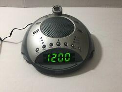 Homedics SS-4000 Sound Spa Clock Radio Sound Machine with Time Projection