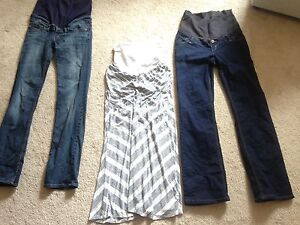 Maternity pants and skirt size small