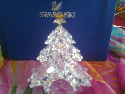 SWAROVSKI   *   Christmas Tree Shining Star Crystal 2012   * Acacia Gardens Blacktown Area Preview