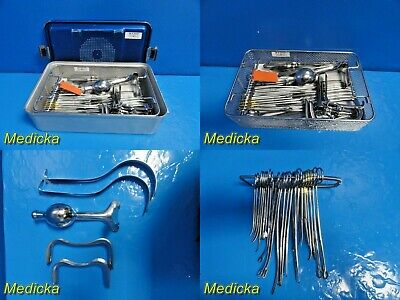 Jarit Complete Professional Dc Tray Surgical Instruments W Carrying Case22187