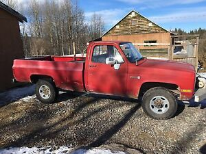 1987 GMC Sierra 2500HD 4x4 Longbox