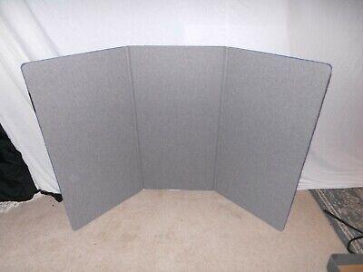 Skyline Classic 3 Panel Folding Tradeshow Tabletop Display Portable W Fiber Case