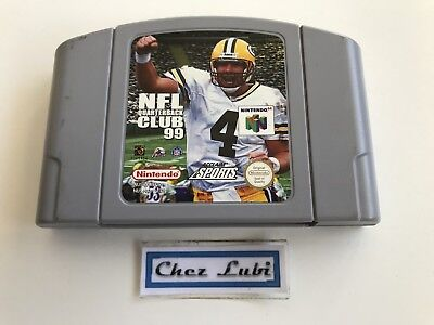 NFL Quarterback Club 99 - Nintendo 64 N64 - PAL EUR