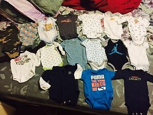 0-3 mnth baby boy 1$/onsie