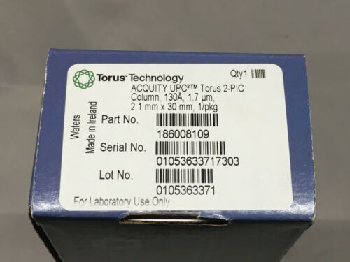 Waters 186008109 Torus 2-PIC HPLC Column, 130A , 1.7um, 2.1mm x 30 mm
