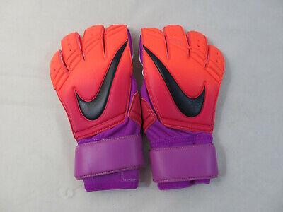 Nike GK Premier SGT Goalkeeper Gloves Size 11 Volt Yellow Orange PGS221 810