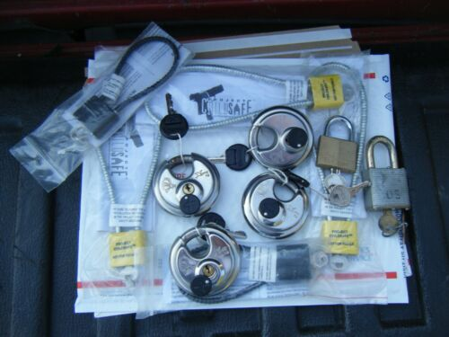 Chateau Heavy Duty Round Stainless Steel Locks ~ Plus Extras