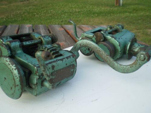 2 Peck Stow & Wilcox Crimper, Roller, Former- 1 Price.