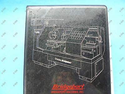 Bridgeport 11865457 Romi Ezpath I Lathe Operations Programming Manual