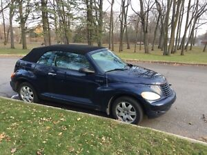 2005 Chrysler PT Cruiser convertible (FWD)