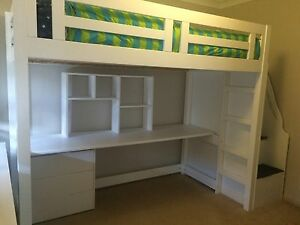 King Single Loft Bed Barden Ridge Sutherland Area Preview