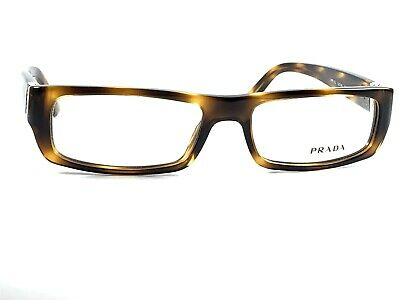 Authentic NEW Prada VPR13L 7WX-1O1 Women's Tortoise Rx Eyeglass Frames 52/16~140