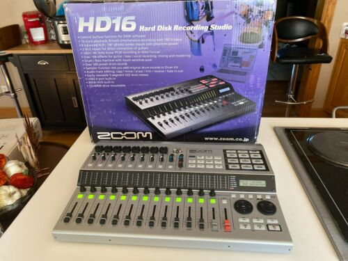 Zoom HD16CD Digital Multi Track Recorder (Used, Works, FOUND ZOOM PWR SUPPLY!)