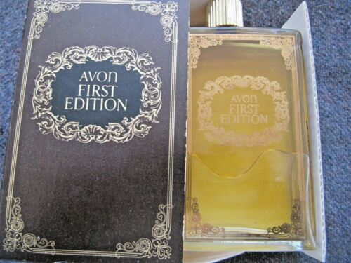 VINTAGE AVON FIRST EDITION Leather After Shave, 6 Fl.OZ.