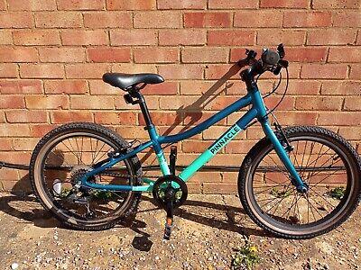 Pinnacle Ash boys bike 20 inch wheels green used in good condition