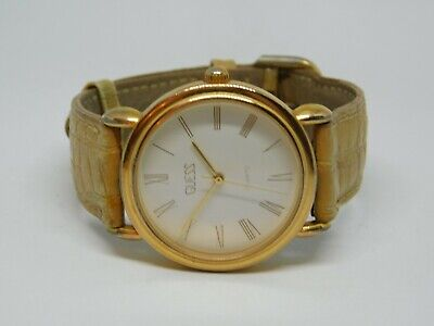 Vintage Guess 1988 All Stainless Steel Quartz Analog Ladies Watch