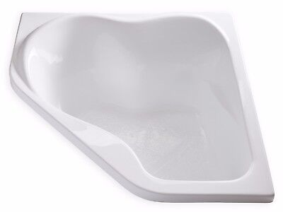 "Carver CK5959 59"" x 59"" White Soaking Corner Bathtub with Head Support for sale  Grandview"