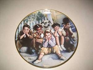 LITTLE RASCALS LIMITED EDITION FINE PORCELAIN PLATE (LOVELY) Buderim Maroochydore Area Preview