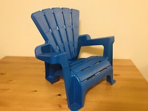 Toddler patio chair blue