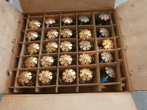 VINTAGE BOX UNUSED RELIABLE FIRE SPRINKLER HEADS  160 degree
