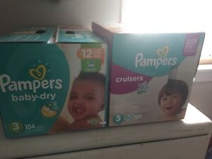 Unopened pampers