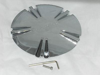 New Verde V78 Helix 18  20  22  24  Chrome Wheel Rim Tc 004 Center Cap W  Screw