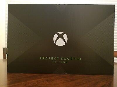 EXTREMELY RARE XBOX ONE X SCORPIO