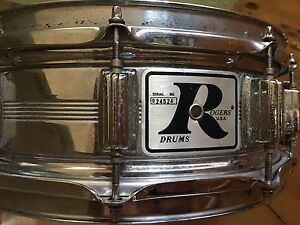1970's vintage rogers dynasonic  snare drum Noosaville Noosa Area Preview
