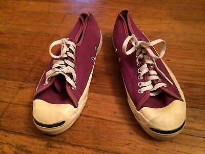 Rare Vtg CONVERSE Jack Purcell Low Top Sneaker Shoes Mens So 7 USA for sale  Millbrae