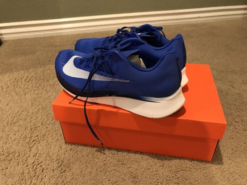 meet e2d49 3410a Nike Zoom Fly 880848 411 Hyper Royal Running Blue Size 11 Men