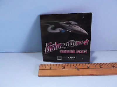 Galaxy Quest Emblem Patch loot crate exclusive lootcrate NEW!! QMX prop replica