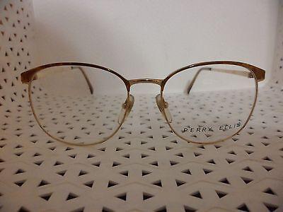 Perry Ellis EyeWear PE-12-2 Vintage 80's Unisex Eyeglasses  (TF10)@