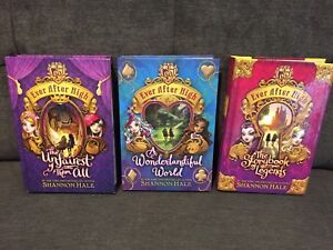 Three hard cover Ever After High books