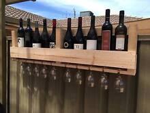 Wine & Glass Wall Mounted Feature Murray Bridge Murray Bridge Area Preview