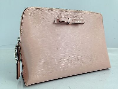 Auth coach Cosmetics Pouch PVC Pink Ladies beauty products 6f180320S