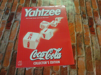 Coca-cola COKE  collectors edition Yahtzee BRAND NEW SEALED